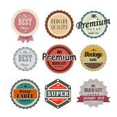 Kiváló minőségű címkéket gyűjteménye