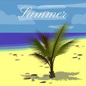 Sommerurlaub Vektor Hintergrund
