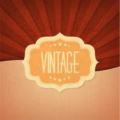 Vintage Design Element Vektor Illustration