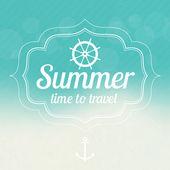 sada letní prodej designu emblémy