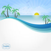 Summer vector background vector illustration