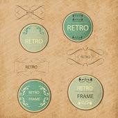 Vintage Design Elements készlet