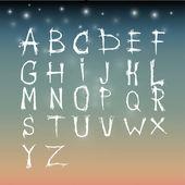 Alphabet vector set  illustration