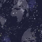 Earth pozadí vektorové ilustrace
