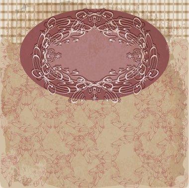 Vintage frame vector illustration stock vector
