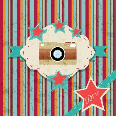 Vintage background vector illustration stock vector