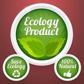 ecology  banner vector illustration