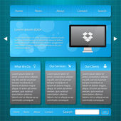 honlap banner vektoros illusztráció