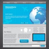 webové stránky banner vektorové ilustrace