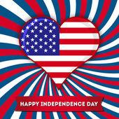 Den nezávislosti pohlednice design