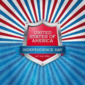 USA independence day symbols