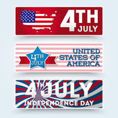 USA independence day symbols