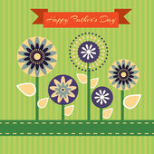 otců Happy den kartu vinobraní retro