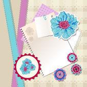 Vektor floralen Hintergrund Design