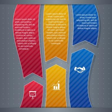 Infographic  banner vector illustration stock vector