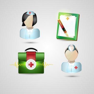 Medical  banner vector illustration stock vector