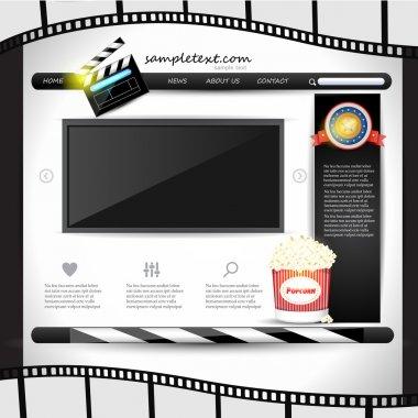 Internet  banner vector illustration stock vector