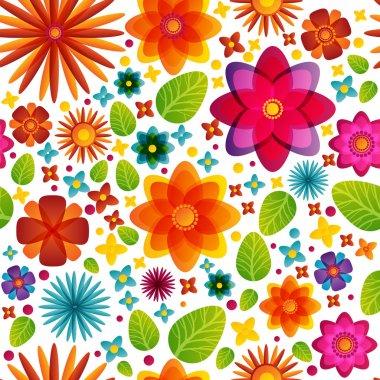 Flowers banner vector illustration stock vector