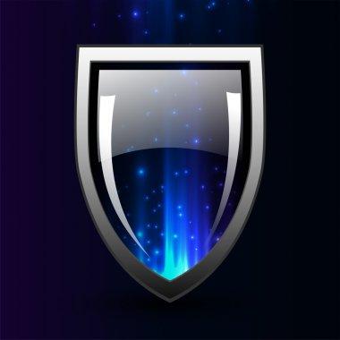 Protect shield vector illustration stock vector