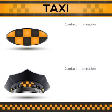 Racing orange background, taxi cab cover template. stock vector