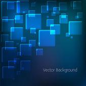 vektorové pozadí s modrými čtverečky.