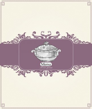 Vintage menu for restaurant, cafe, bar, coffeehouse stock vector