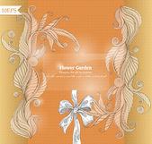 Floral-vector háttér design