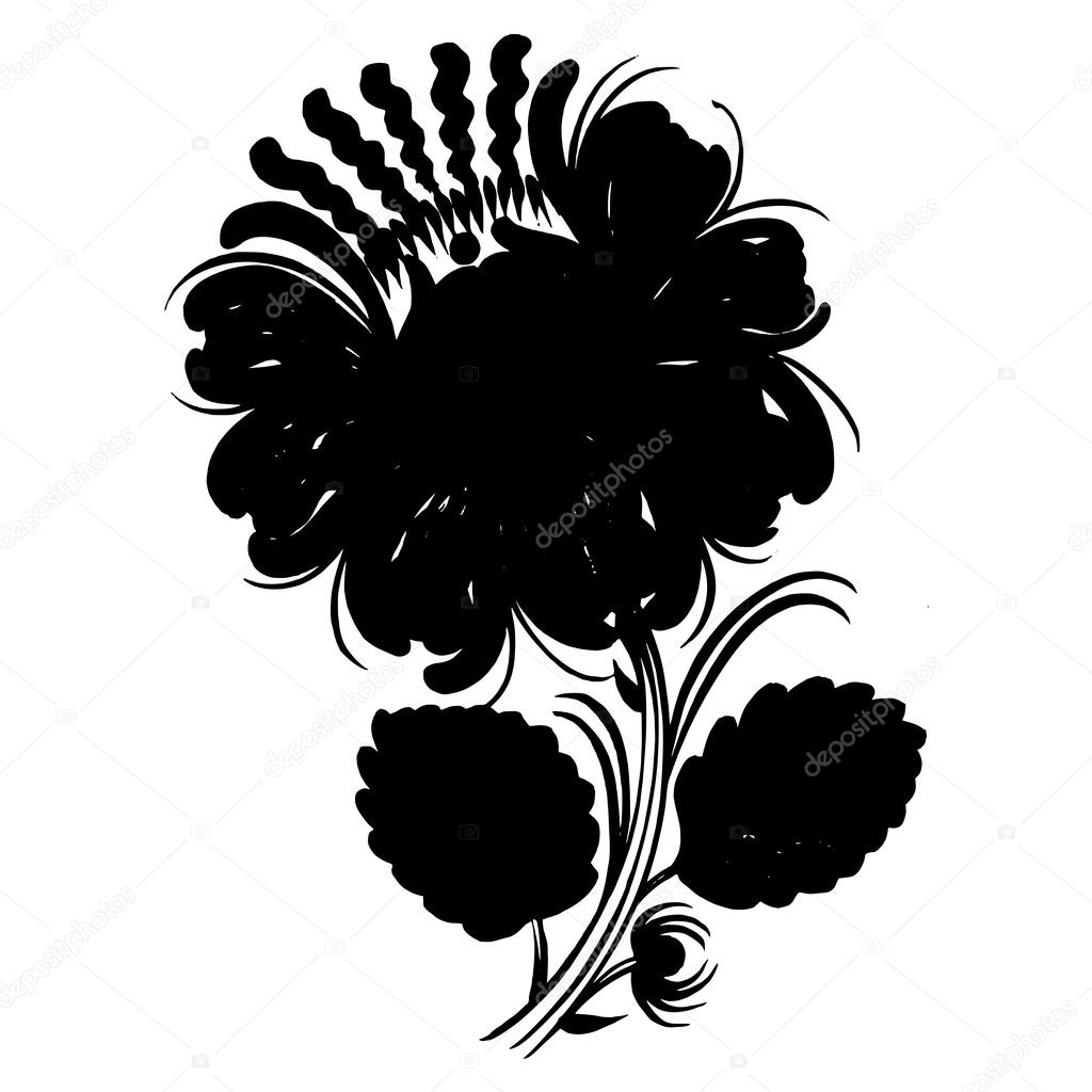 ornamental silhouette