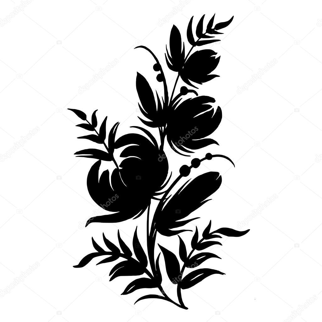 ornamental silhouette