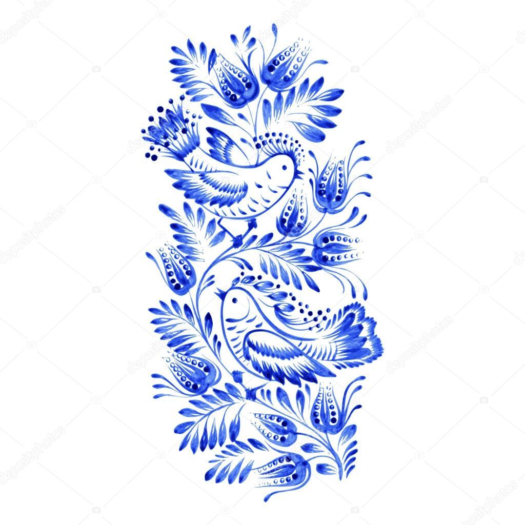 floral decorative ornament