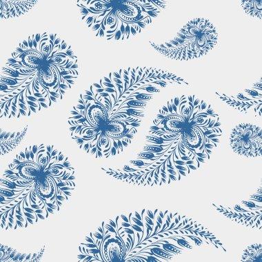 seamless pattern paisley