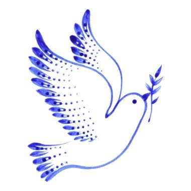 decorative ornament dove peace