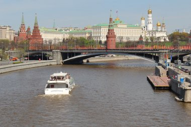 Moscow Kremlin and Moskva river, Moscow, Russia