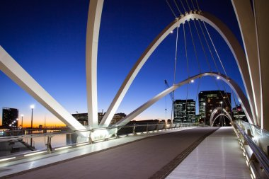 Seafarers Bridge in Melbourne