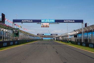 2014 Australian Formula 1 Grand Prix Preparations