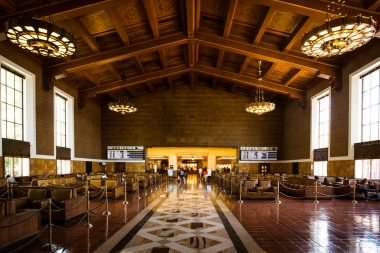 Los Angeles Union Station Waiting Area