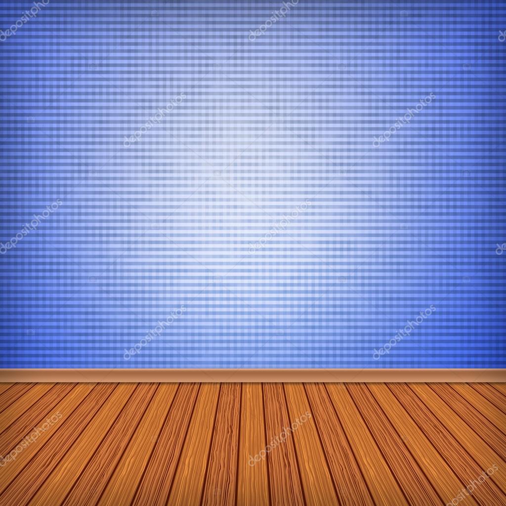 Quarto Vazio Azul Interior Com Papel De Parede Texturas De Alta  ~ Poltronas Para Quarto De Bebe E Parede Texturizada Quarto