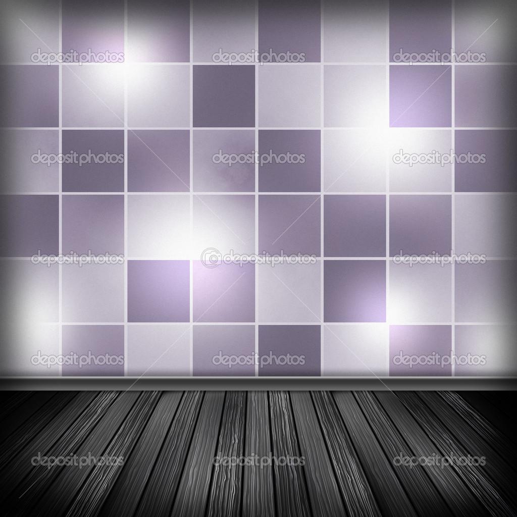 Quarto Vazio Interior Com Papel De Parede Bac De Textura De Alta  ~ Papel De Parede Para Quarto Textura