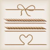 Fotografie Seile und Bogen