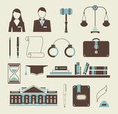 Fotografia icone della legge
