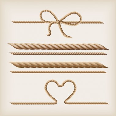 Ropes and bow