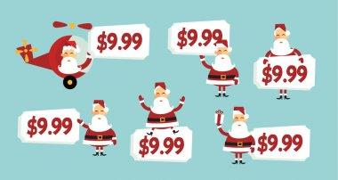 Santa price tag