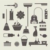 Fotografie Cleaning icons