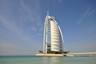 Burj Al Arab in Dubai, as seen on January 9, 2013