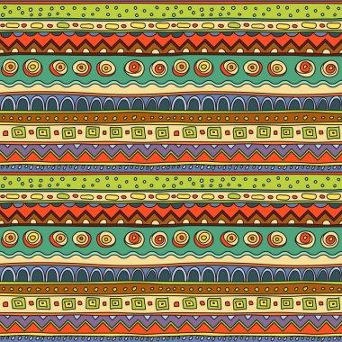 Ethnic ornament, vector clip art vector