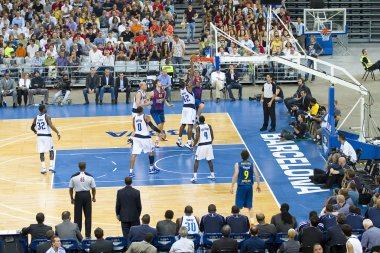 Basketball match Barcelona vs Dallas