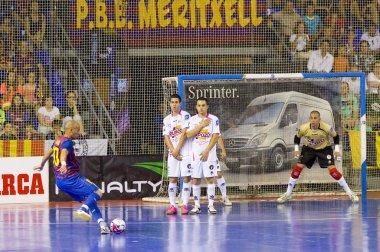 Futsal maç fc barcelona vs el pozo