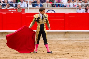 El Juli bullfighting in Barcelona