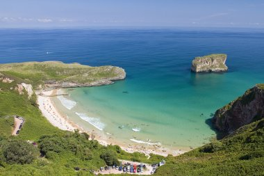Beach in Llanes, Spain