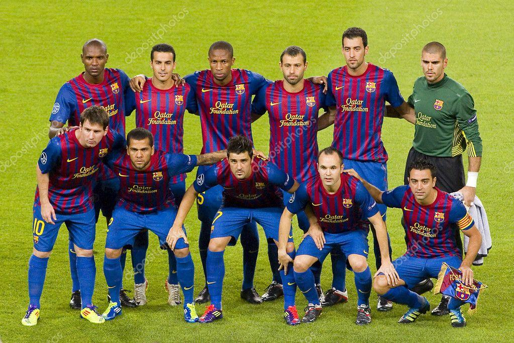 Футбольная команда барселона фото состава
